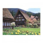 Puzzle 500 pices - Cottage Japonais